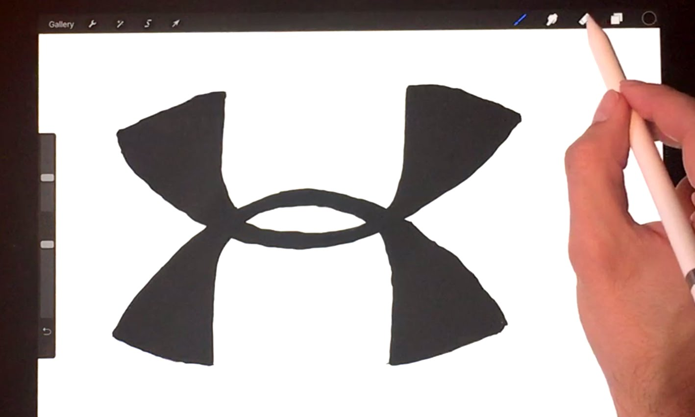 Under Armour Drawing At Getdrawings Com Free For Personal Use