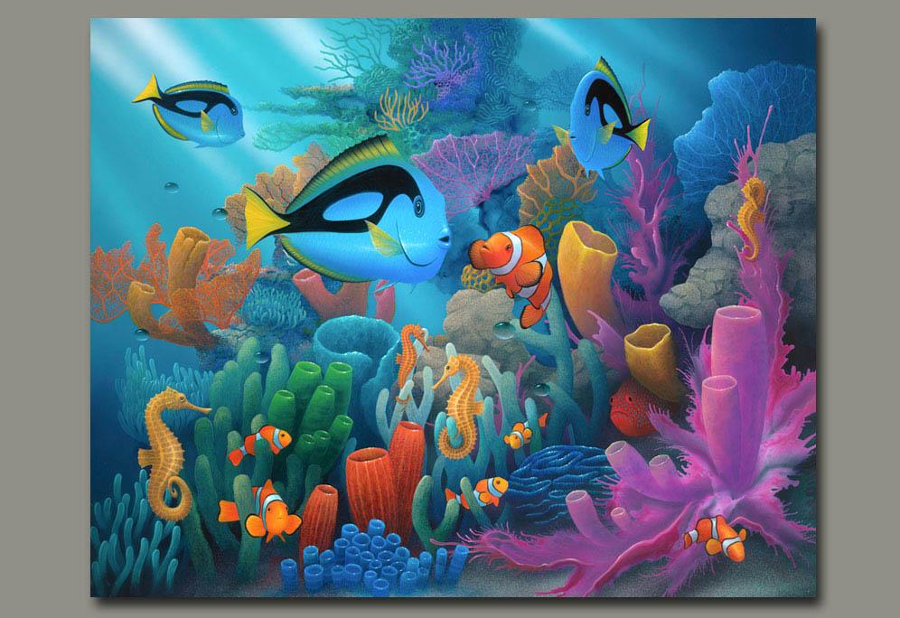 Ocean Floor Ocean Plants