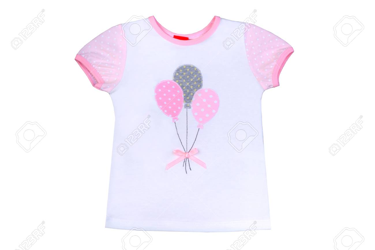 1300x866 Clothes For Kids Isolated On A White Background, An Undershirt