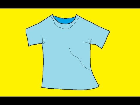 480x360 How To Draw A Shirt Quickly