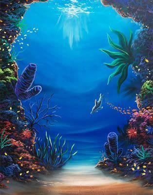 314x399 Underwater Paintings