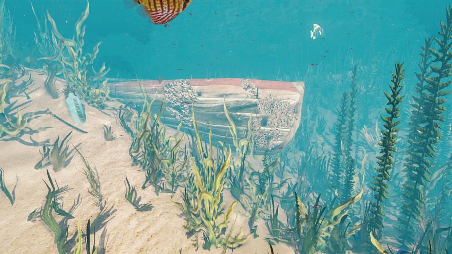 910x512 Udk Underwater Scene (Large Images) Polycount