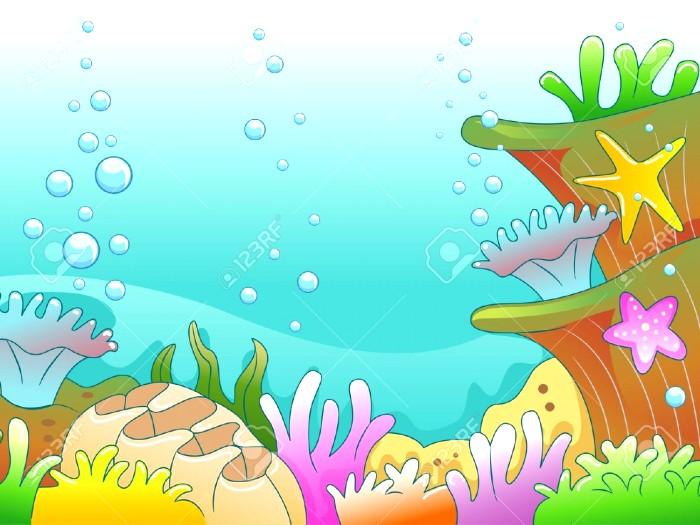 700x525 Underwater Scenery Drawing Ideas