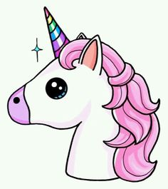 236x265 Unicorn Mythical Horses Unicorns, Kawaii And Drawings