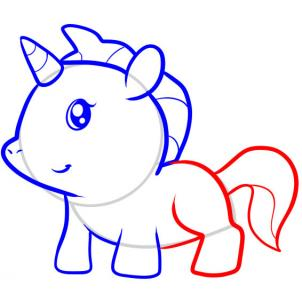 302x302 How To Draw How To Draw A Unicorn For Kids