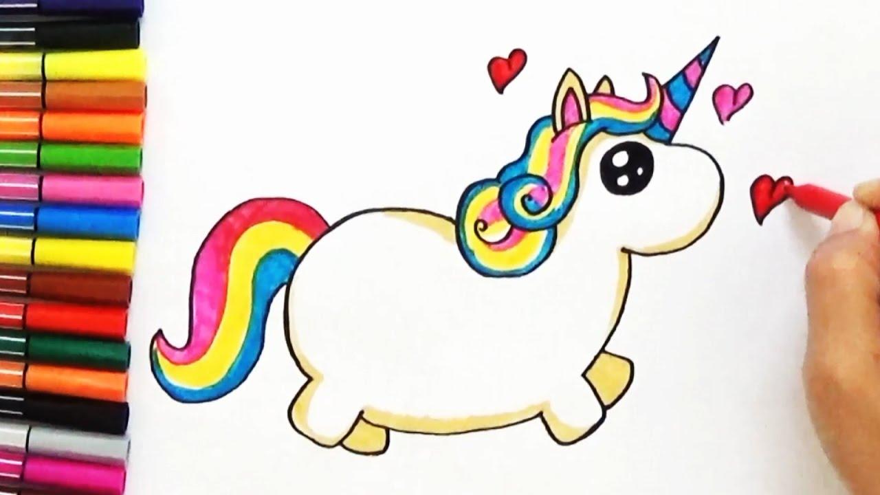 1280x720 How To Draw A Cute Unicorn