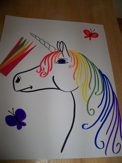 480x640 Pin The Horn On The Unicorn Unicorn Games, Unicorns And Horn