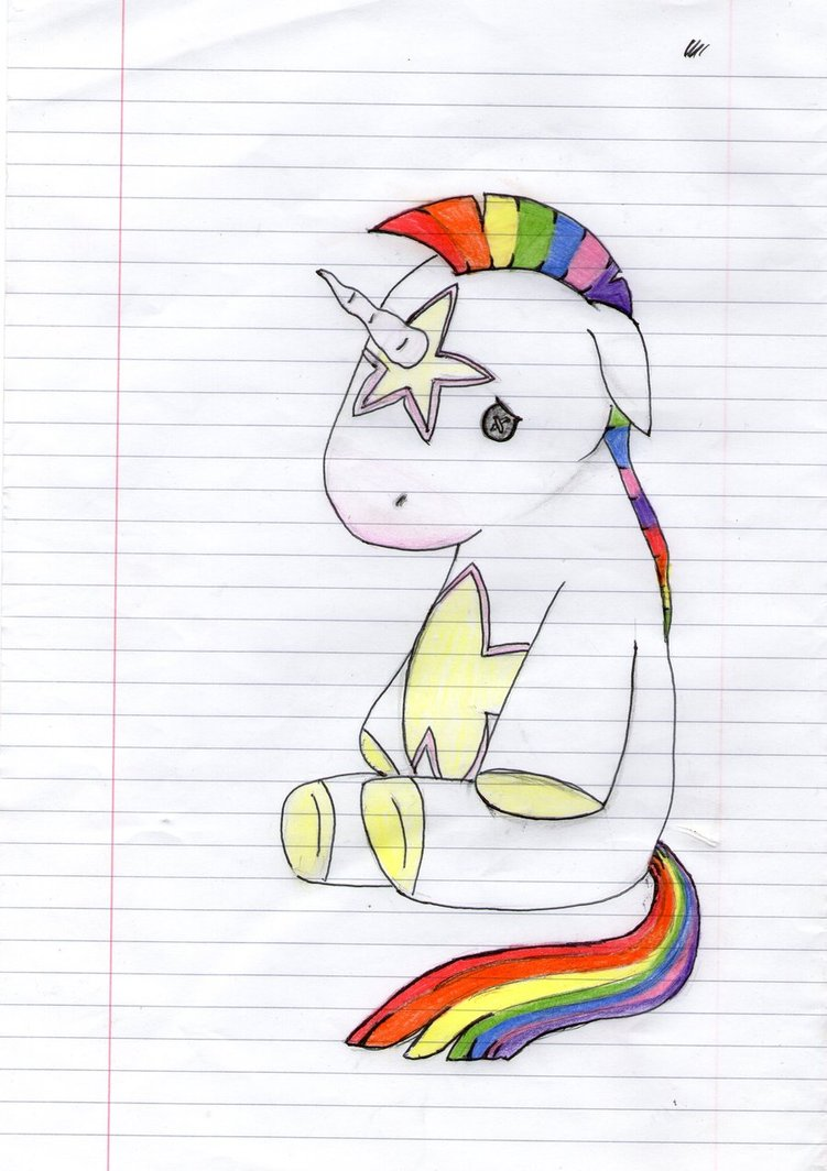 751x1064 Rainbow Unicorn Baby Rainbow Unicorn By Shannyisapanda Rainbow