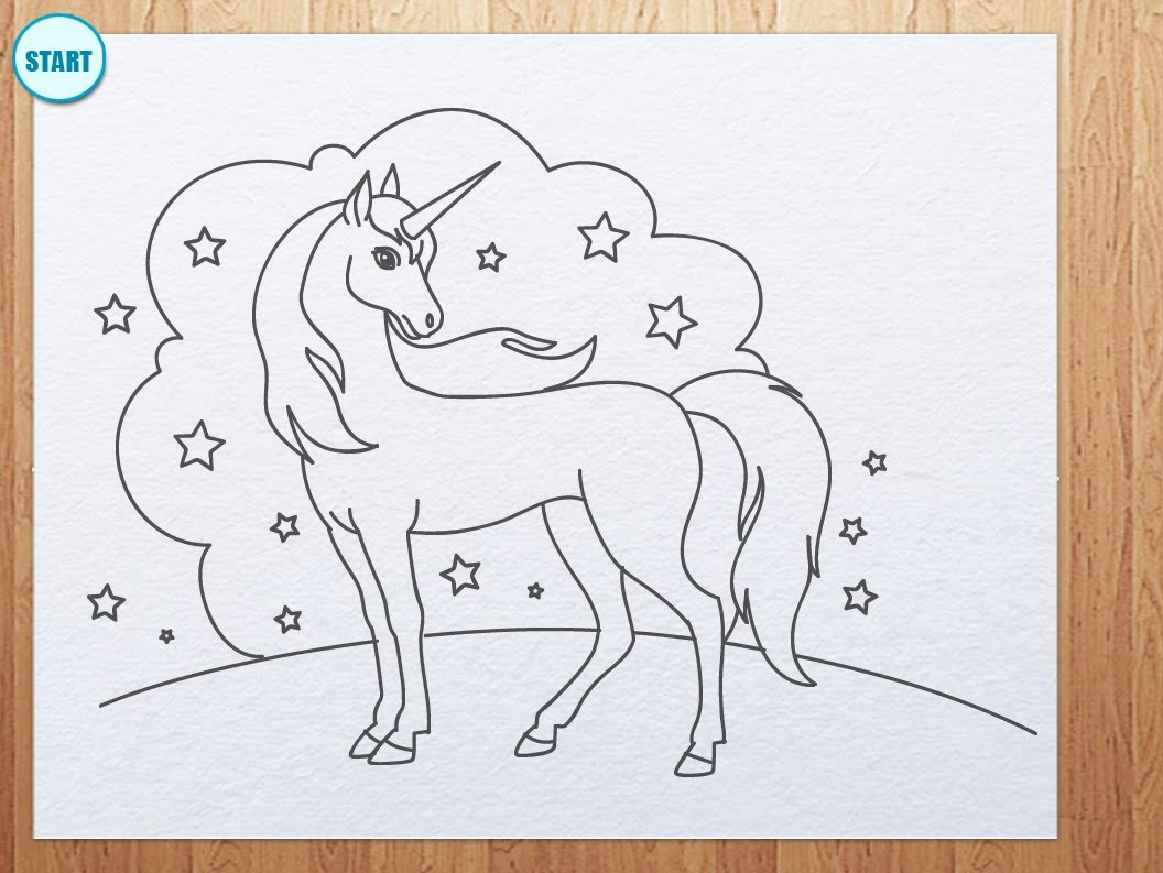 Unicorn Drawing Images At Getdrawings Com Free For Personal Use
