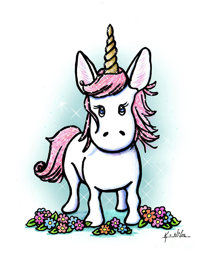 720x900 Unicorn Drawings Fine Art America