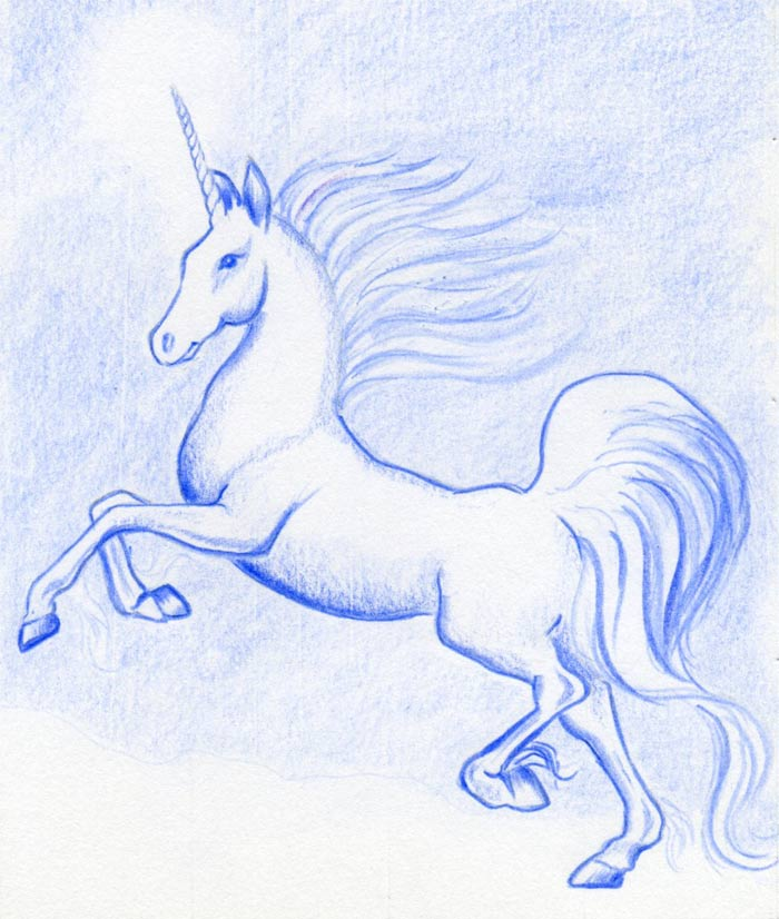 700x826 Want To Draw A Unicorn