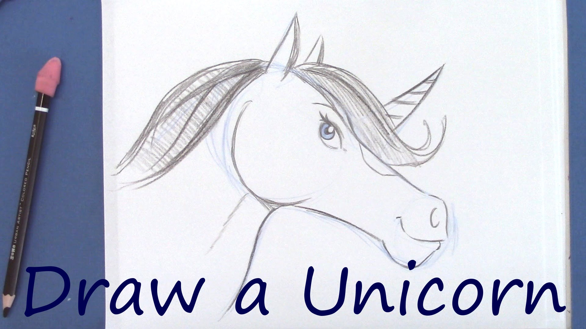 1920x1080 How To Draw Draw A Unicorn