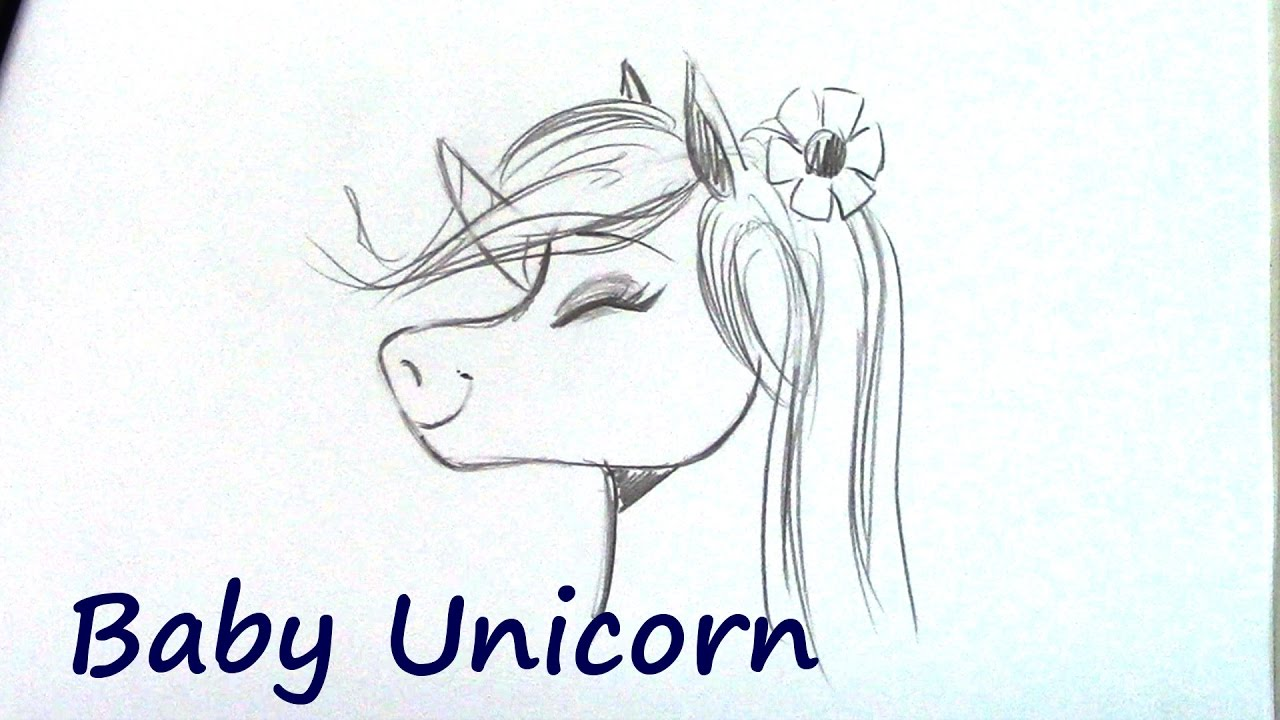 1280x720 How To Draw A Unicorn