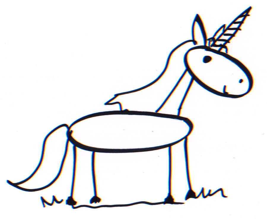 900x740 a good enough stick figure unicorn what you draw is good enough