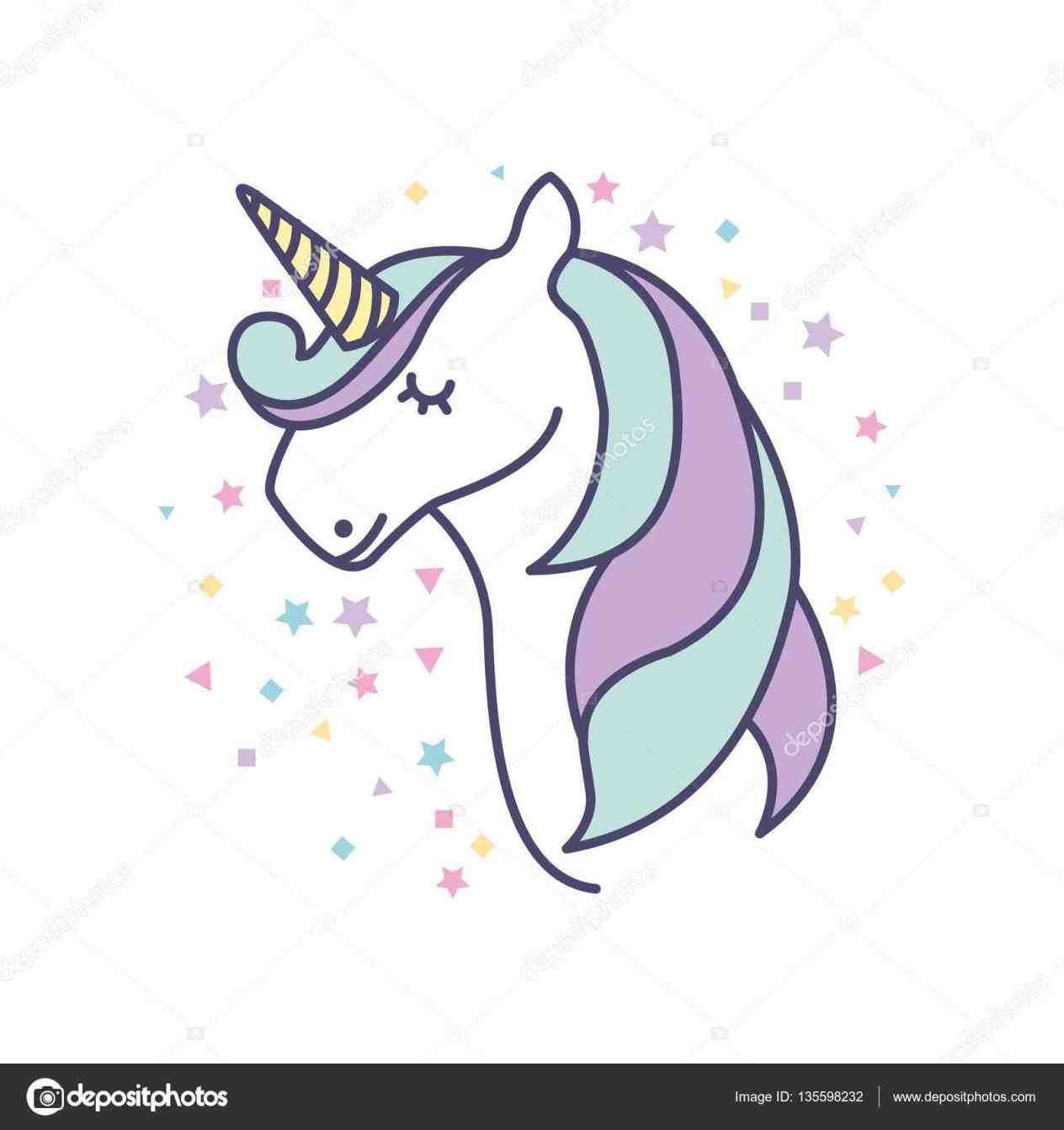 1264x1343 Pictures Cute Drawings Of Unicorns