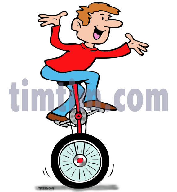 Line Art Unicycle : Unicycle drawing at getdrawings free for personal