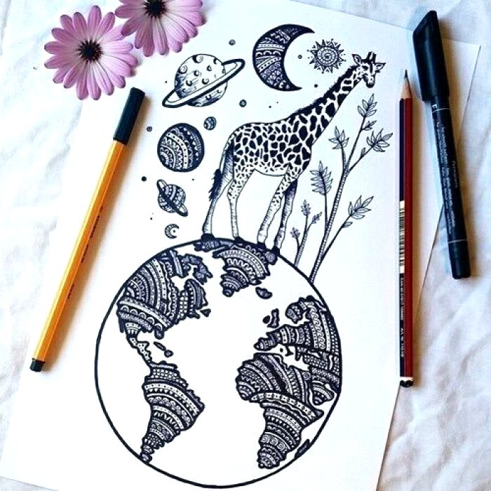 700x700 Unique Drawing Ideas For Kids And Much More