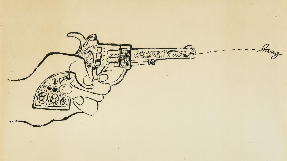 1090x613 Bang! Andy Warhol, Early Pop Drawings 1952