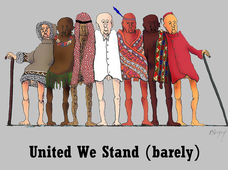 900x673 United We Stand Digital Art By R Allen Swezey
