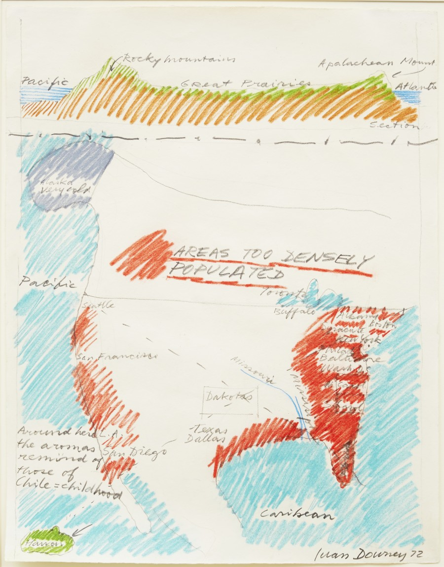 900x1150 22 Famous Artists Draw The United States From Memory Huffpost
