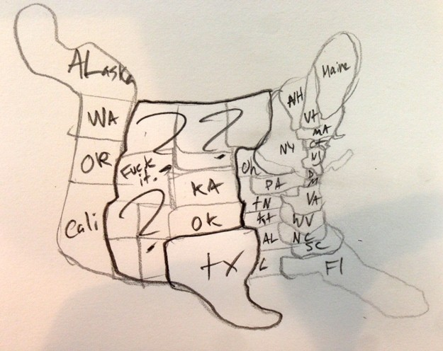 625x496 Can You Draw A Map Of The United States The Brucev Blog