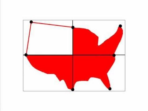 474x355 How To Draw A Us Map Outline United States Map Drawing Drawn Map