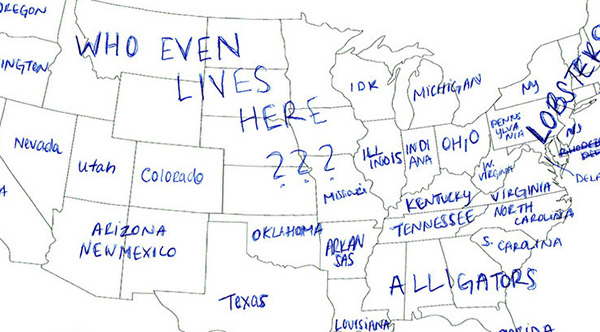 United States Map Drawing at GetDrawingscom Free for personal use