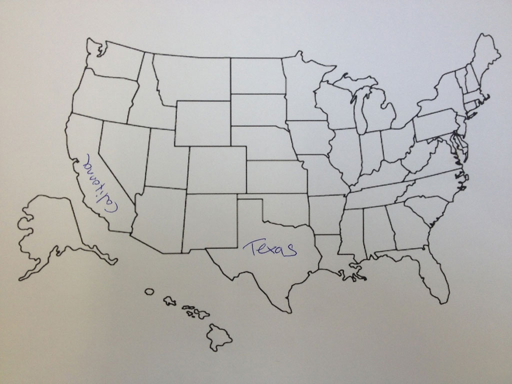 450x369 sketch drawing us map online 9 photos of outline drawing of united 1024x769 this is what happens when americans are asked to label europe and