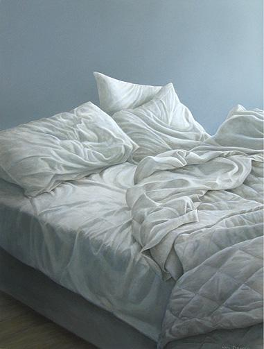 381x503 Neil Driver Unmade Bed Saffron Gallery Of Art, Washdyke