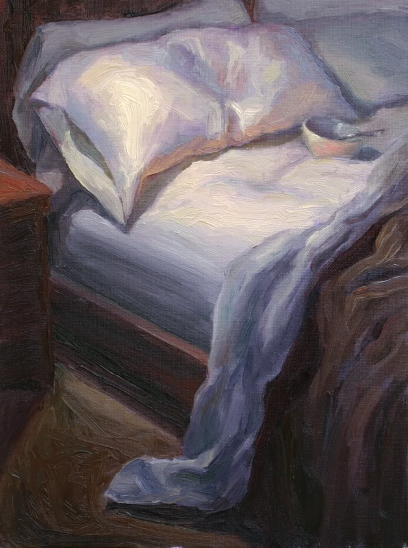 596x799 Unmade Bed By Silvina Day Paint. Paintings, Art