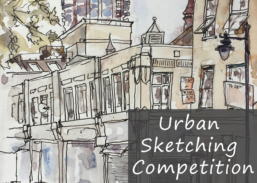 1080x770 Urban Sketching Competition