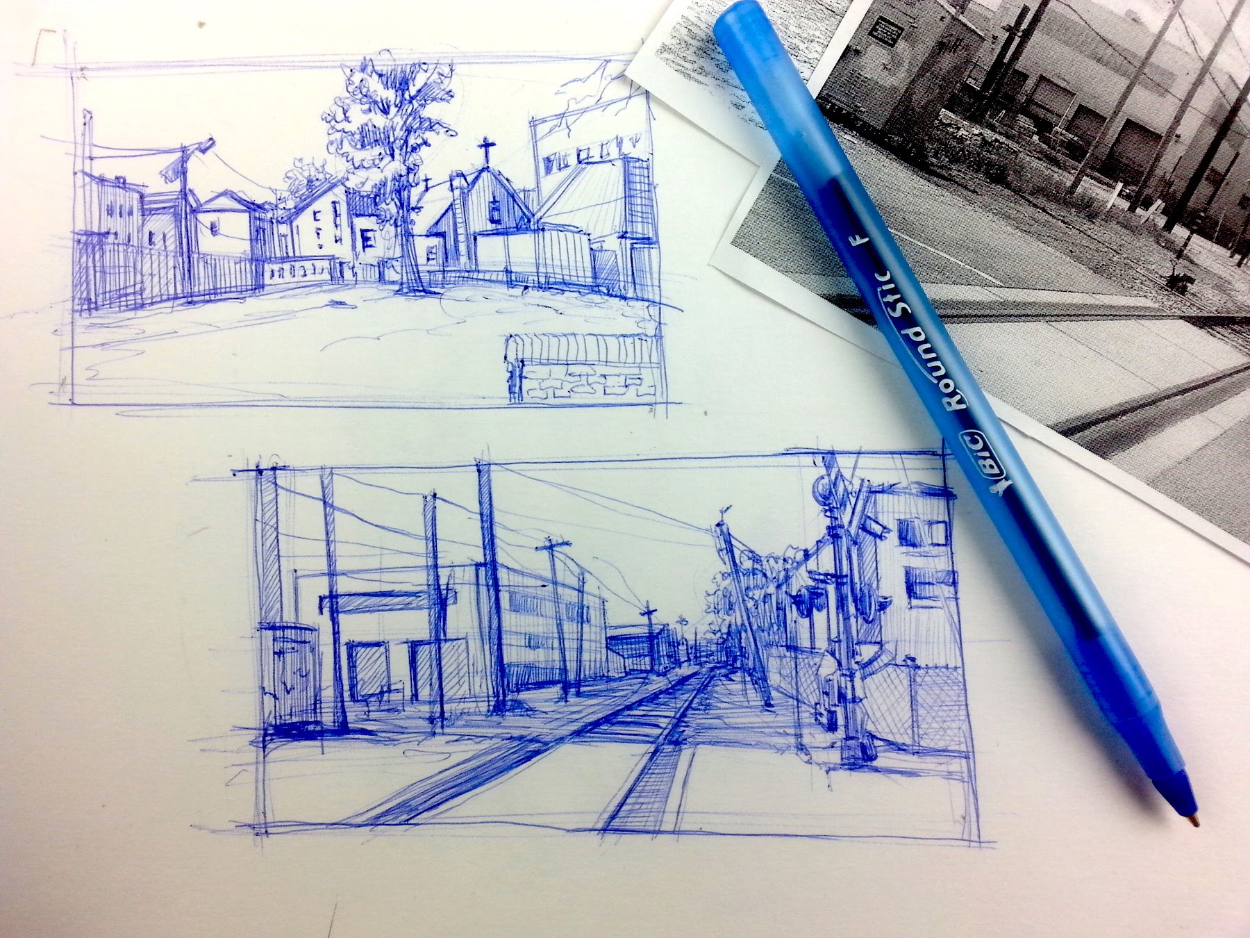 1800x1350 Urban Sketching Series Pt 3 Tips On How Breakdown A Scene