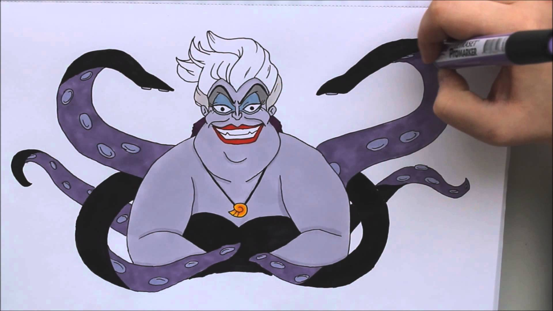 1920x1080 Coloring Ursula And Saying Hi!