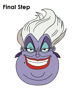 300x388 How To Draw Ursula