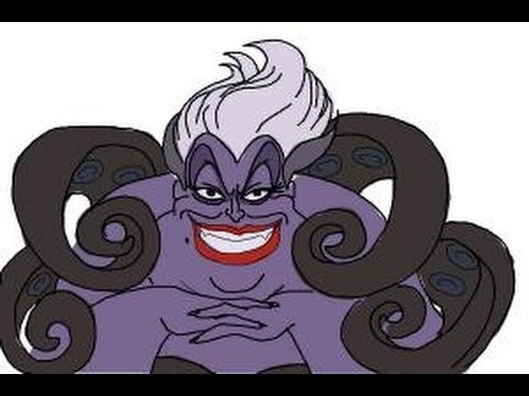 480x360 How To Draw Ursula