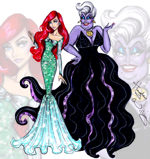 500x527 Image About Drawing In The Little Mermaid By Erica's Things