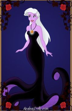 236x362 Drawing Disney Ursula