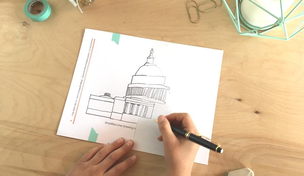 1000x580 Drawing The U.s. Capitol Building Using Symmetry (C3w2)