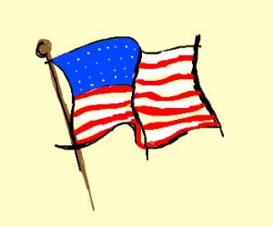 300x250 American Flag
