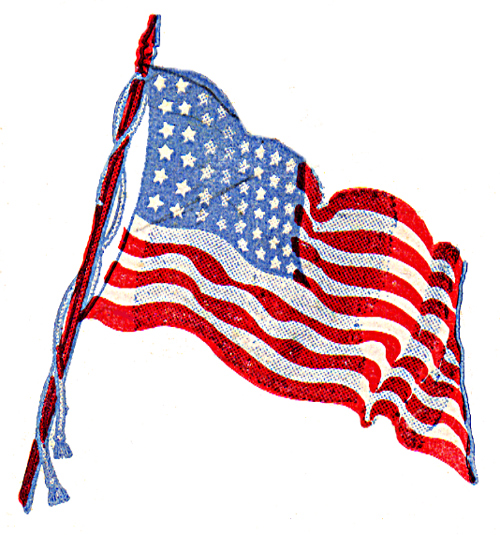 500x535 American Flag Flags, Art Clipart And Clip Art