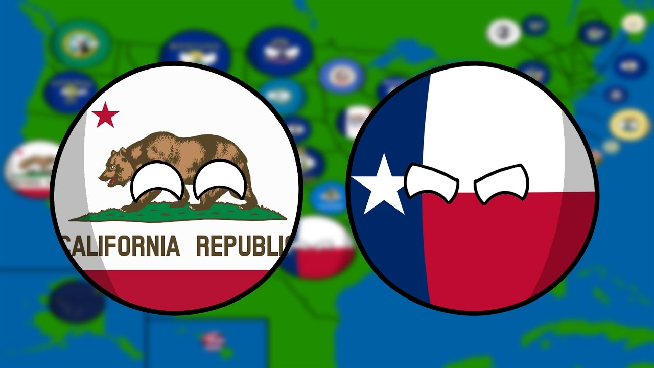 1280x720 Drawing A Countryball Map Of Usa!