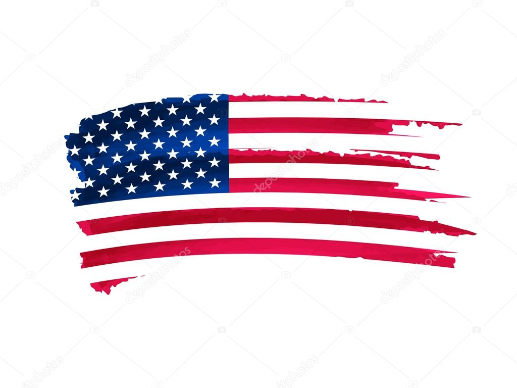 1024x768 Usa Flag Drawing Stock Photo Marinini
