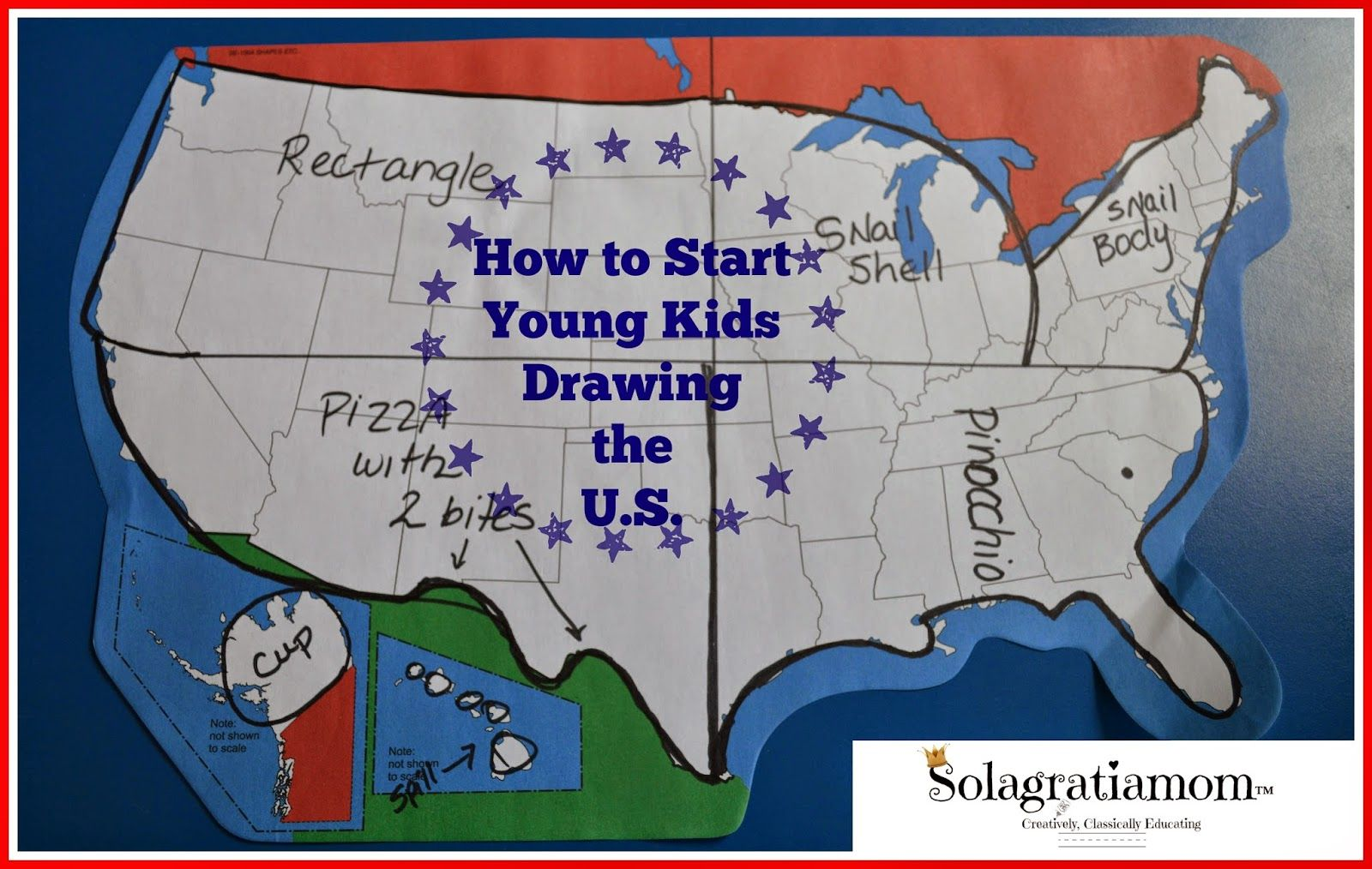 1600x1014 How To Start Young Kids Drawing The U.s. (Sola Gratia Mom