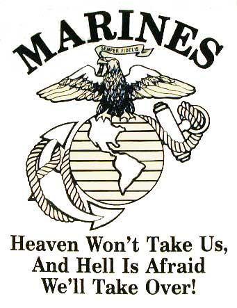 341x443 Devil Dog Marines Usmc ~ Heaven Amp Hell