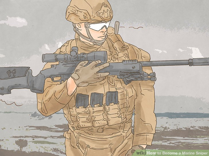 728x546 How To Become A Marine Sniper (With Pictures)