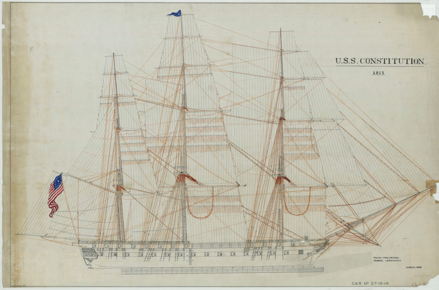 uss constitution drawing at getdrawings com free for personal use