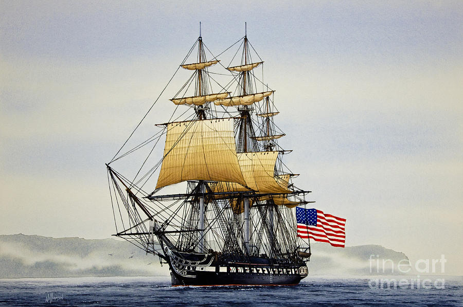 Uss Constitution Drawing at GetDrawings.com | Free for ...