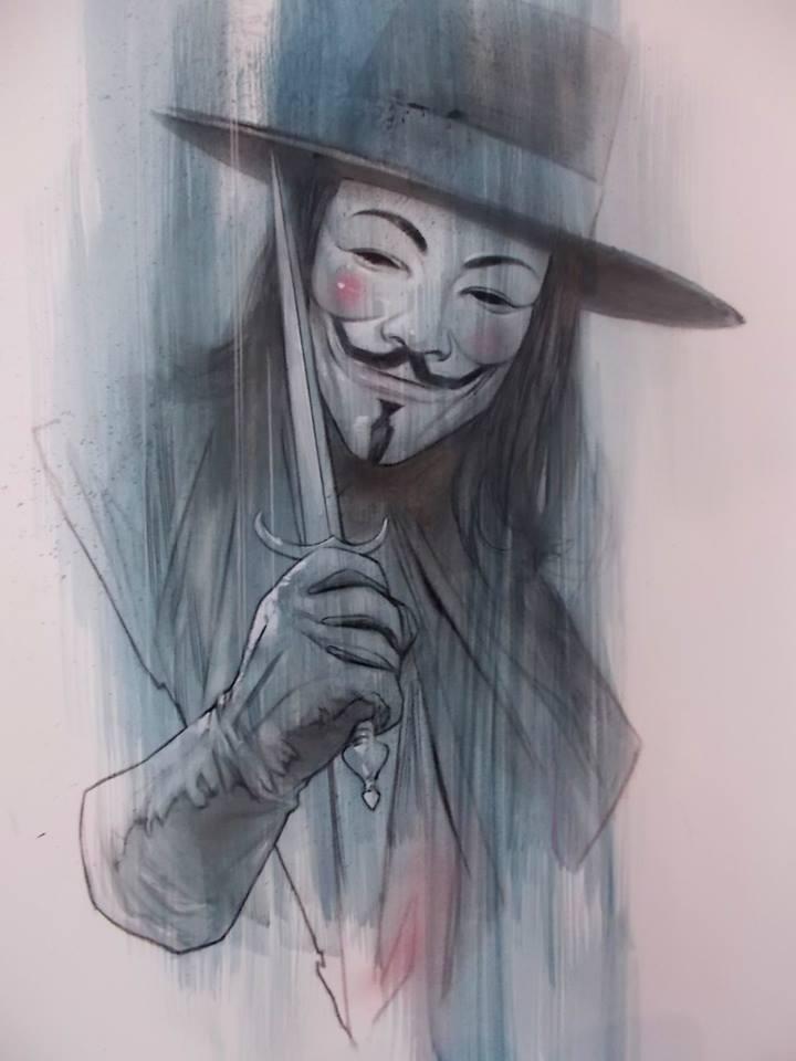 720x960 V For Vendetta By Ben Oliver