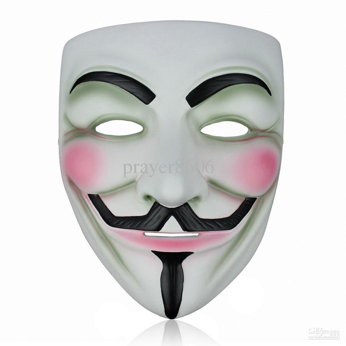 1200x1200 Brand New Resin V For Vendetta Mask Halloween Masks Cosplay Party