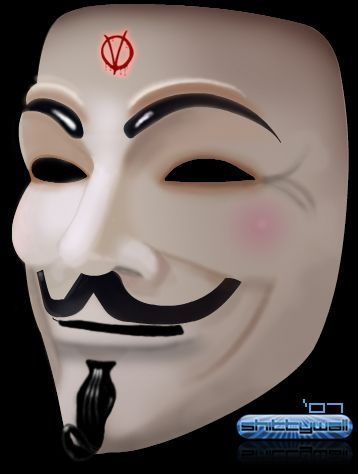 358x474 The V For Vendetta Mask A Political Sign Of The Times Vendetta